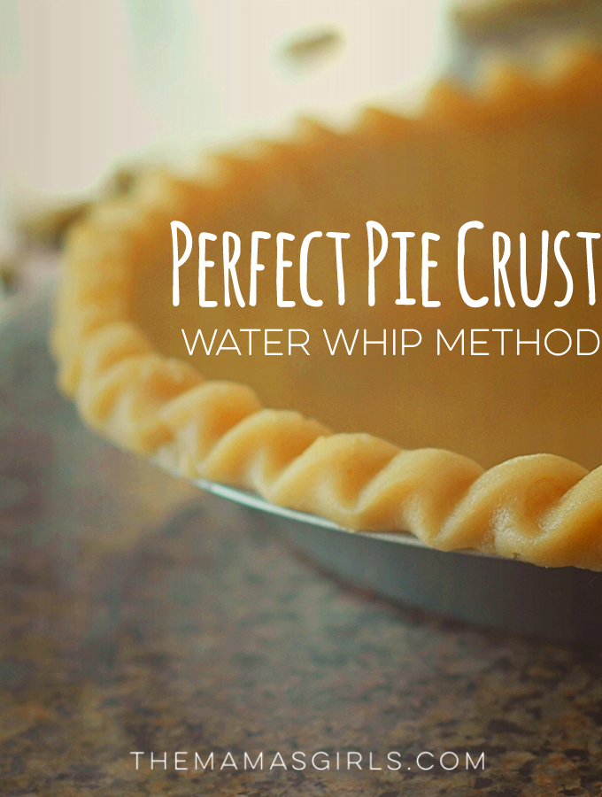 Perfect Pie Crust - Water Whip Method