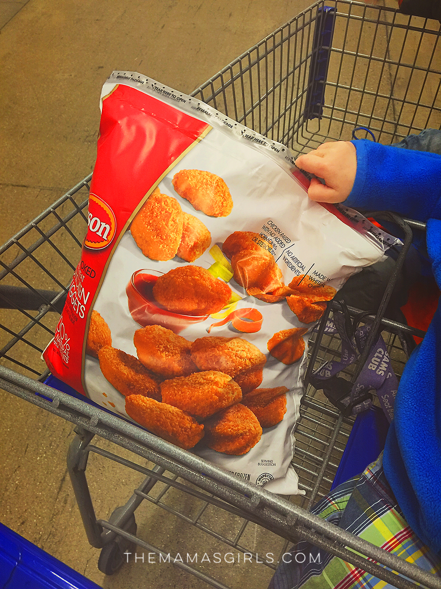 sams club tyson chicken nuggets
