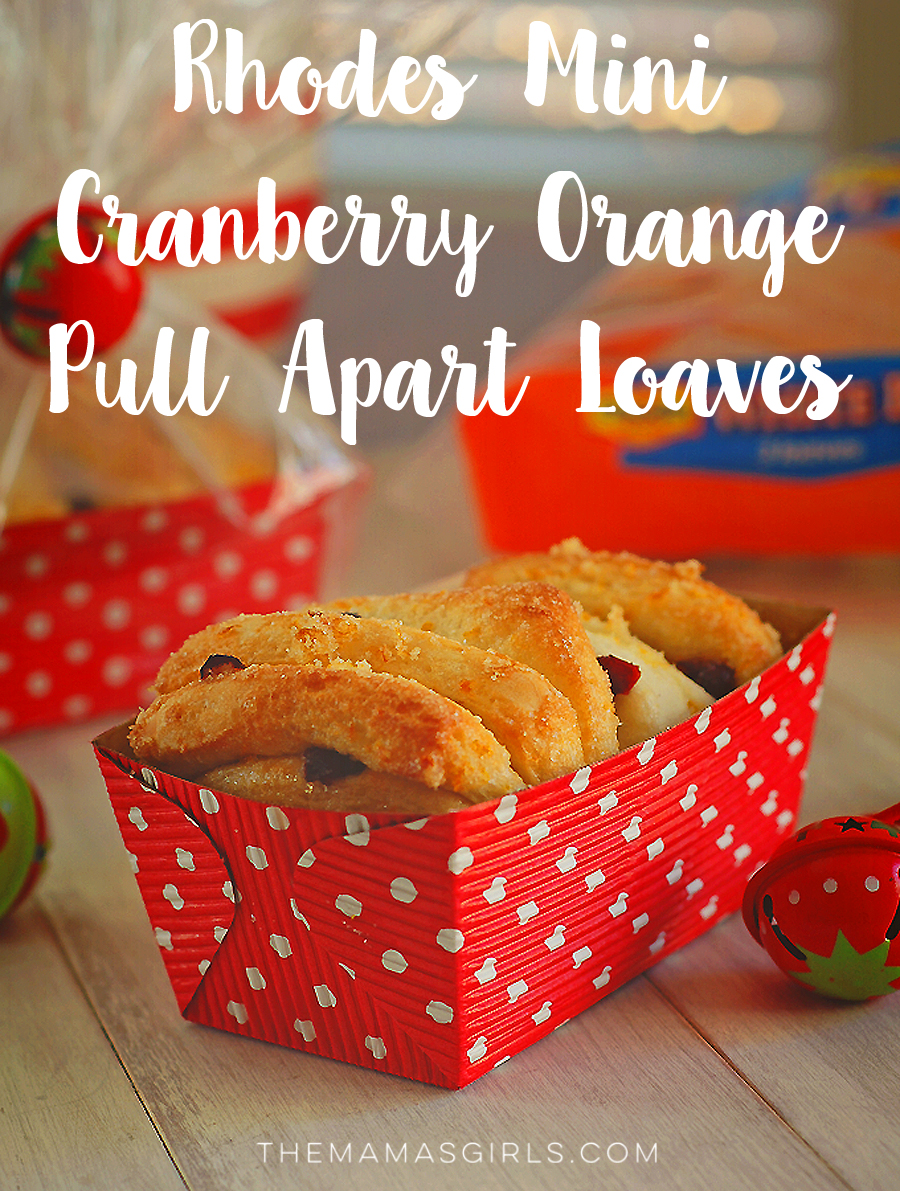 Rhodes Mini Cranberry-Orange Pull Apart Loaves