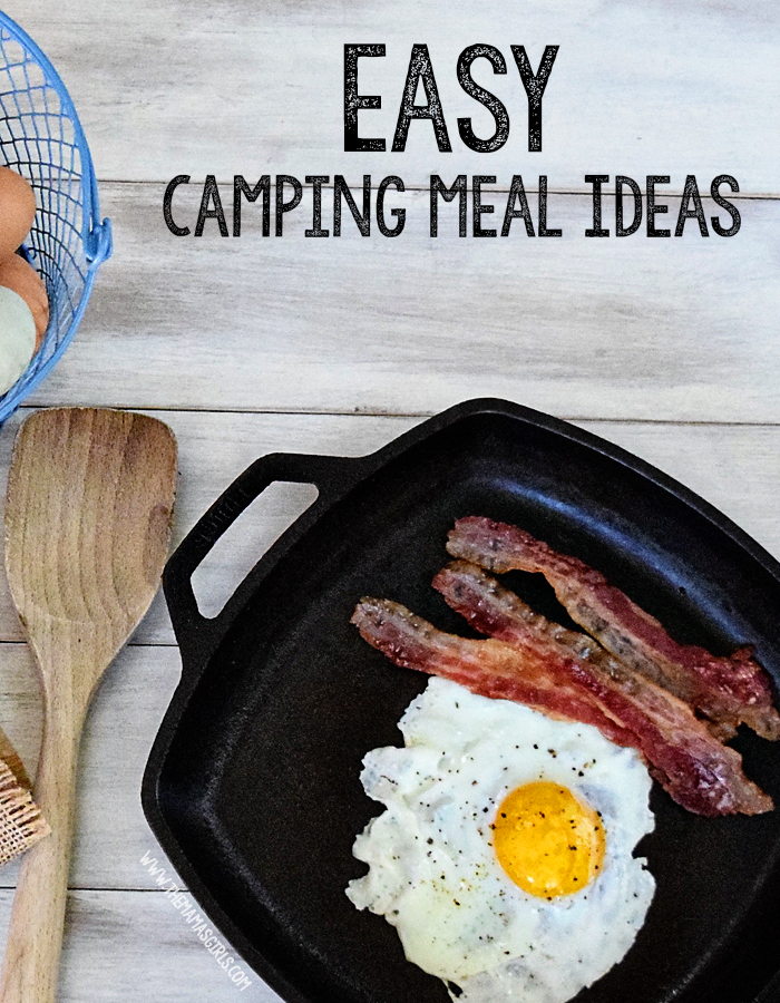 Easy Camping Meal Ideas, Camping Menu