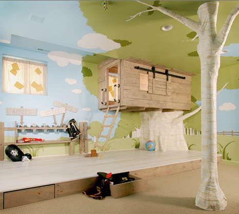 play room ideas tree house