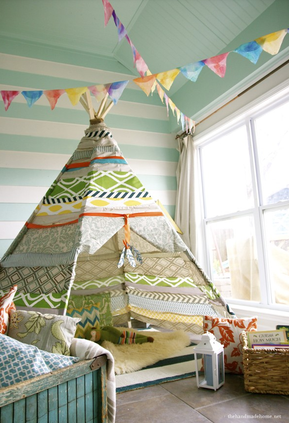 toy room ideas tee pee
