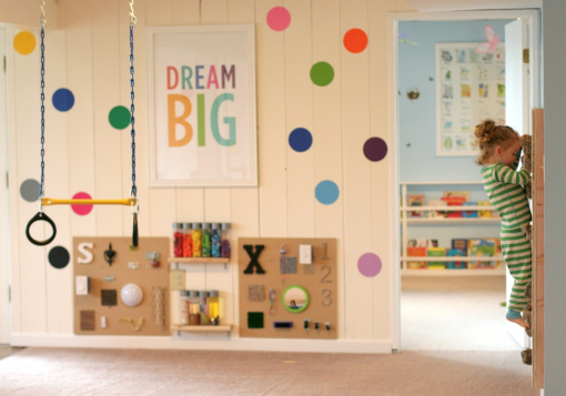 active children play room