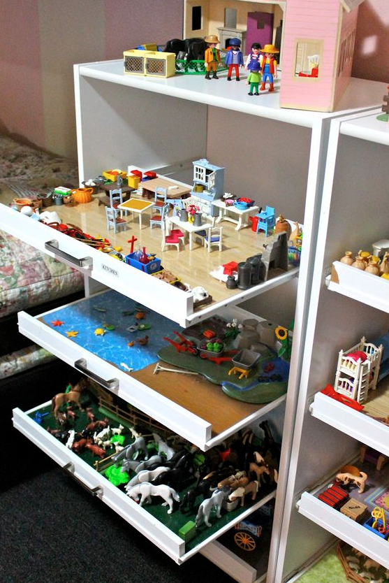 toy room dresser hack