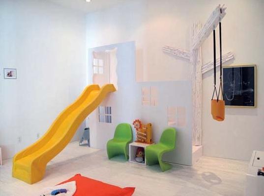 modern toy room