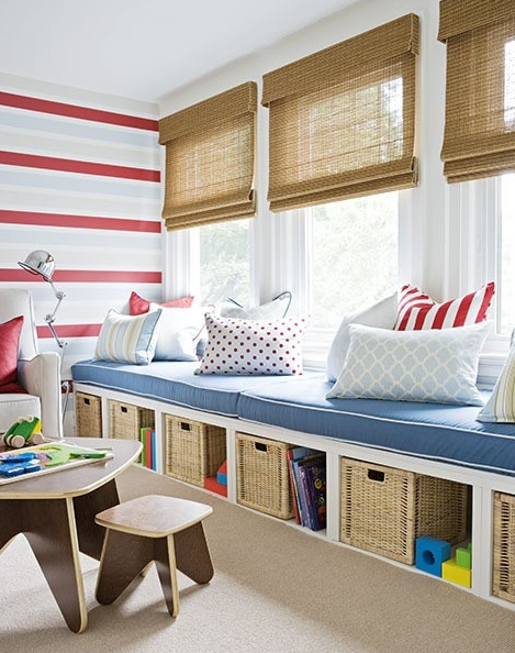 nautical toy room idea