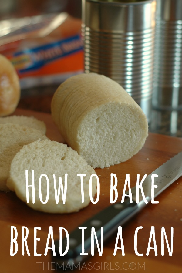 How to Bake Bread in a Can