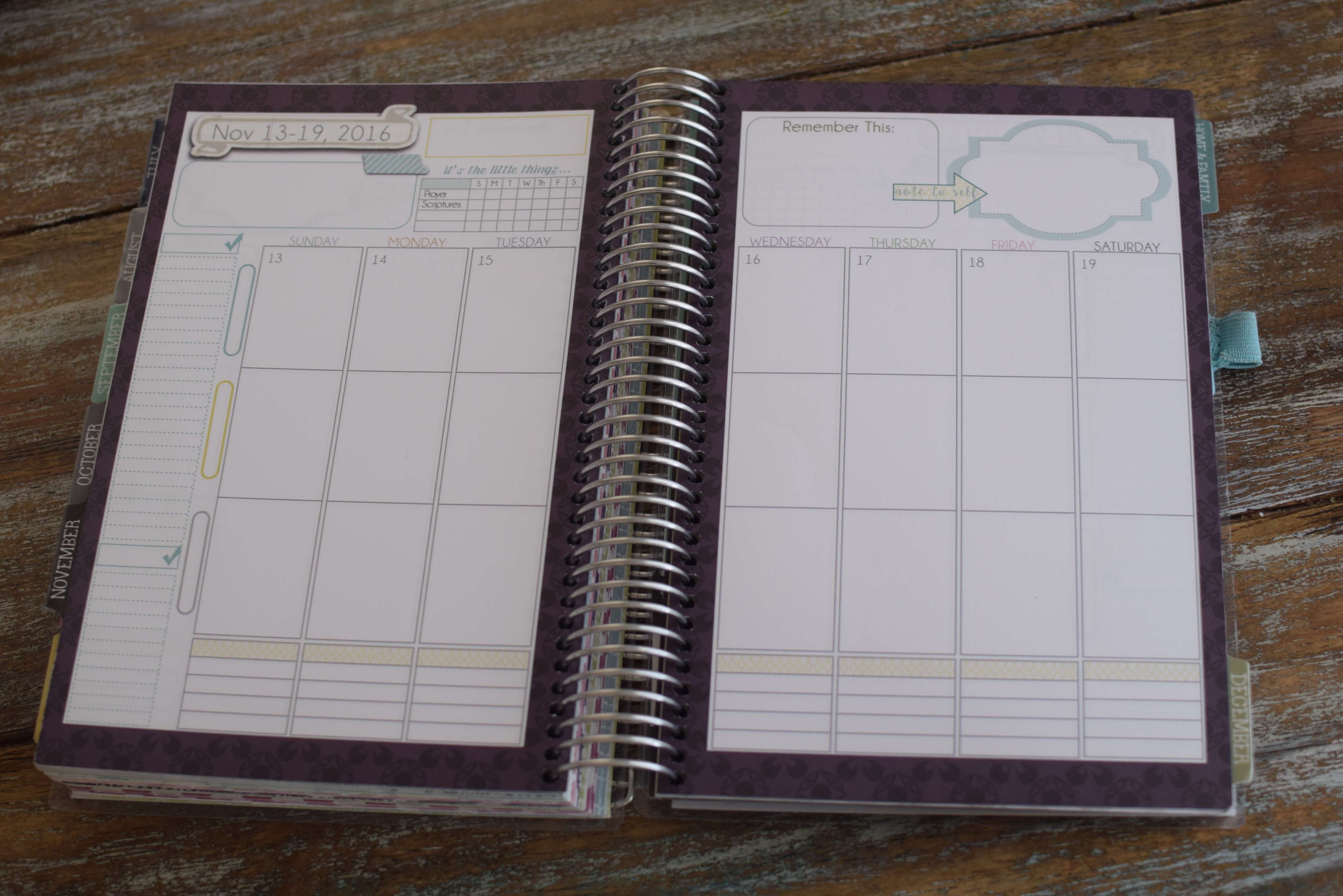 the very best planner for moms