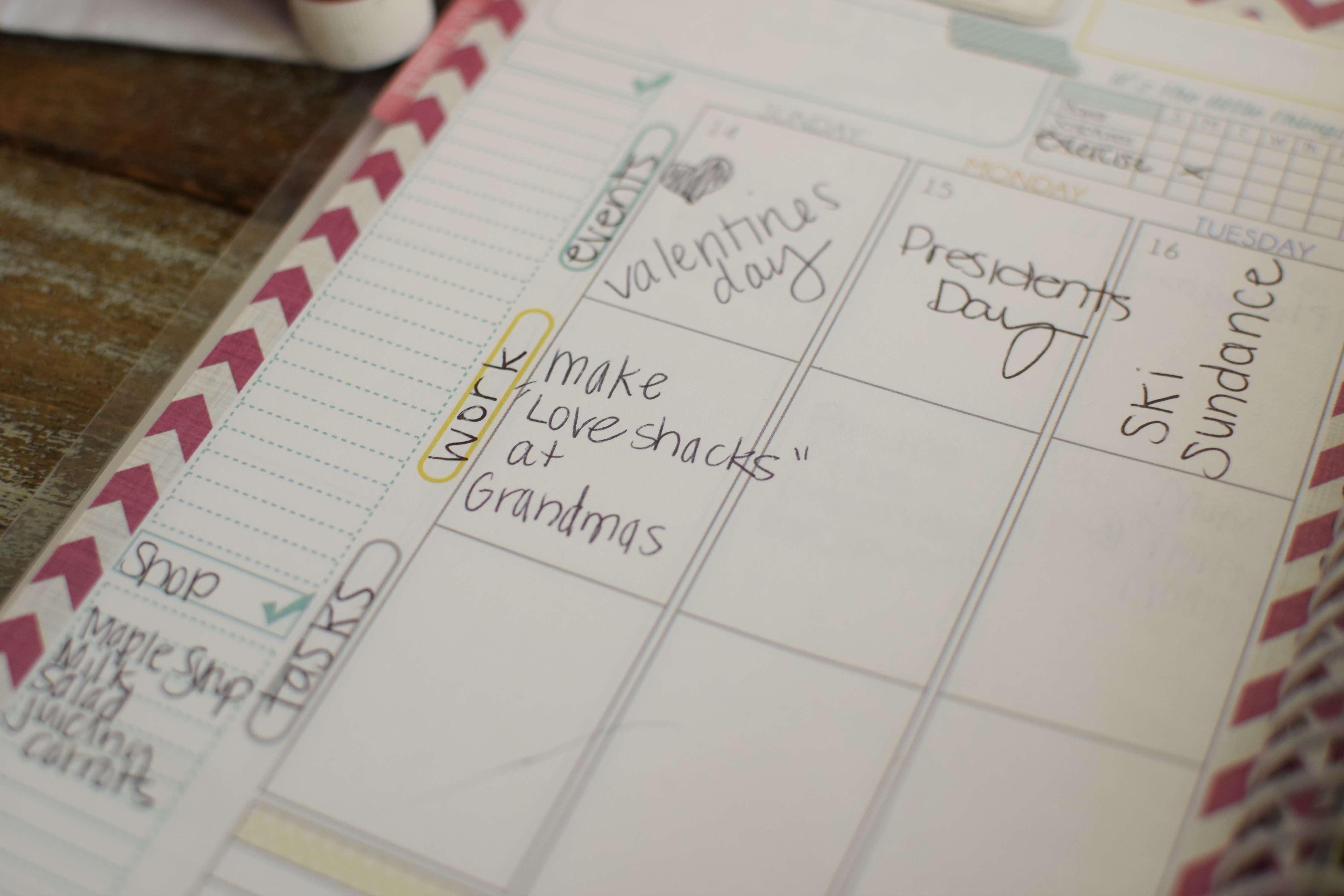 the best planner for moms calendar